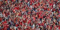 Belgische supporter in gezicht gestoken in EK-fanzone