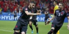 Albanese internationals flink in het zonnetje gezet