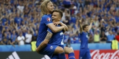 IJsland klopt Oostenrijk in slotminuut en blijft op EK