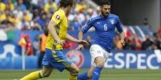 Italië zonder belangrijke Candreva tegen Spanjaarden