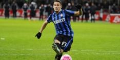 Internazionale gaat door met huurling uit Albanië