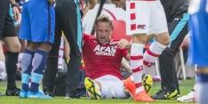 Van Eijden breekt neus in oefenwedstrijd tegen Hertha
