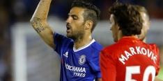 Liverpool-debutant Klavan slachtoffer van tackle Fabregas