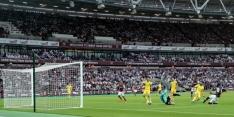 West Ham wint bij stadiondebuut, drama voor Aberdeen