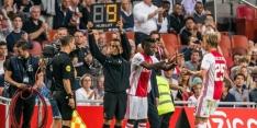 Ajax: Traoré begint in de basis, Tete op de bank