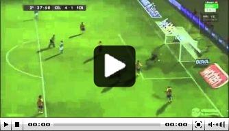 Video: de goal van John Guidetti tegen FC Barcelona