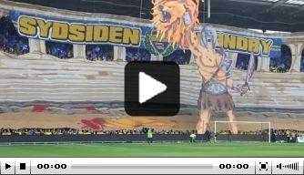Video: Brøndby-fans tonen indrukwekkende sfeeractie