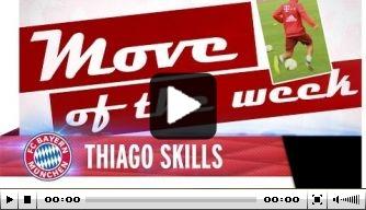 Video: Bayern-middenvelder Thiago showt trucje