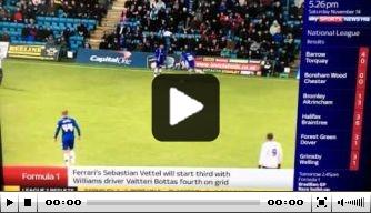 Video: Gillingham-speler scoort na solo vanaf eigen helft