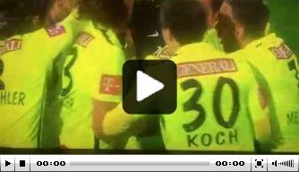Video: Austria Wien-middenvelder scoort met fraaie volley