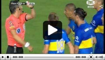 Video: vijf rode kaarten bij River Plate-Boca Juniors