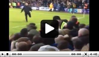 Video: Southend-fan op de vuist met hele uitvak