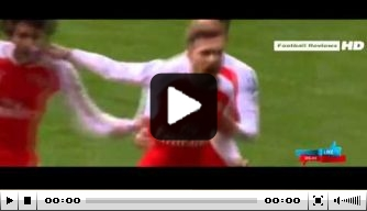 Video: Ramsey met de hak trefzeker in Engelse kraker