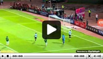 Video: Argentinië wint in WK-kwalificatie van Bolivia