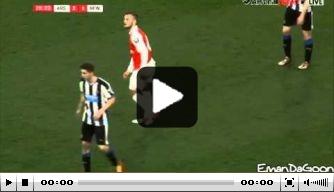 Video: Wilshere keert terug bij beloften Arsenal