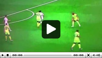 Video: Touré hanteert wandeltempo tegen Real Madrid