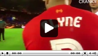Video: Emre Can in tranen na nederlaag in finale