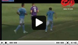 Video: Pirlo en Villa stelen show bij New York City FC