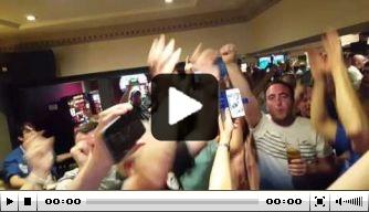 Video: Wigan-fans gaan los om Will Grigg