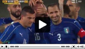 Video v/d dag: Italië wint oefenduel van Finland