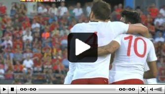Video: Georgië doet nonchalant Spanje pijn