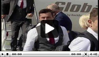 Video: spelers van Albanië groots ontvangen na EK-debuut