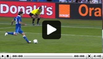 Vandaag in 2012: Pirlo scoort met panenka
