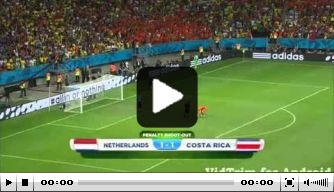 Vandaag in 2014: Krul held van Oranje tegen Costa Rica