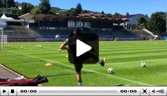 Video: Emre Can scoort prachtig op training Duitsland