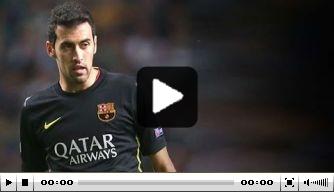 Video v/d dag: hoogstandjes van Sergio Busquets