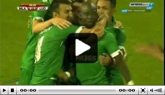 Video: Lukoki blinkt uit bij Ludogorets in CL-voorronde