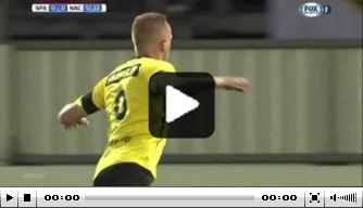 Video: de hoogtepunten van Ünal bij NAC Breda