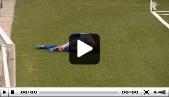 Video: schandelige tackle van Dordrecht-speler op amateur
