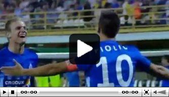 Video: heerlijk doelpunt van Lokomotiva Zagreb in EL