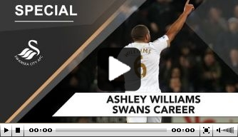 Video: Swansea City neemt afscheid van Williams