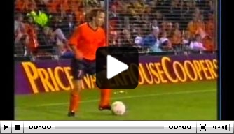 Video: Oranje walst voor rust over Estland heen: 5-0