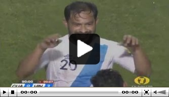 Video: legende neemt met vijf goals afscheid bij Guatemala