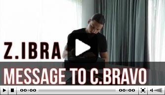 Video: Ibrahimovic stuurt trainingskleren naar City-keeper