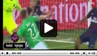 Video: PSG ziet Saint-Etienne vlak voor tijd langszij komen