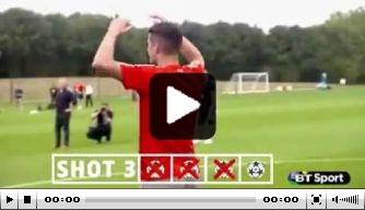 Video: kan Granit Xhaka de volley van Stankovic nadoen?