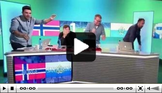 Video: Noors ongeloof na tegentreffer San Marino