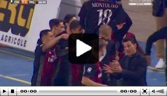 Video: AC Milan boekt keurige zege bij Chievo Verona