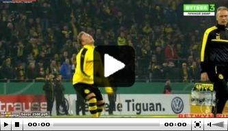 Video: Dortmund-talent jongleert met kauwgom