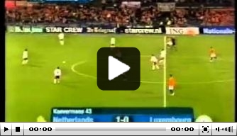 Video: Nederland verslaat Luxemburg in EK-kwalificatie