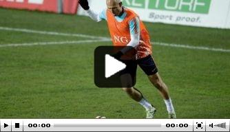 Video: veel goals bij laatste training Oranje voor Luxemburg
