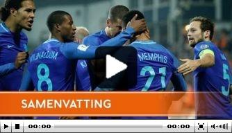 Video: Nederland wint dankzij Memphis in Luxemburg