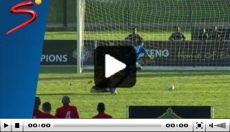 Video: Zuid-Afrikaanse wedstrijd beslist door shoot-out
