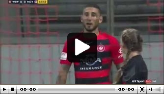 Video: spits merkt pas na juichen dat doelpunt niet telt
