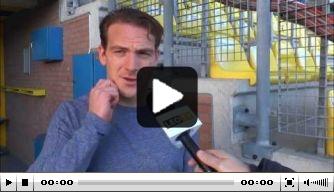 Video: Schilder vertelt over pikant duel met NAC
