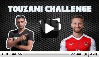 Video: Touzani gaat strijd aan met Arsenal-speler Mustafi